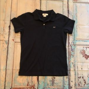 Vineyard Vines Navy Blue Polo size S